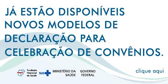 Modelos De Declaração Fundação Nacional De Saúde