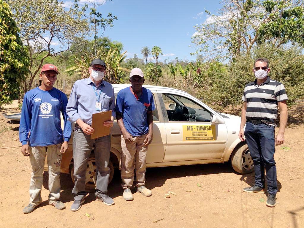 Representantes da Funasa visitam comunidades rurais no DF e GO