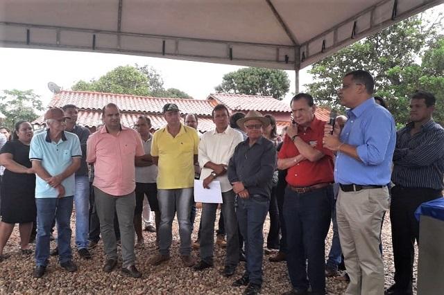 Funasa inaugura obras em dois municípios do Mato Grosso