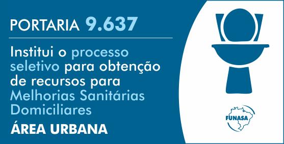Fundação divulga critérios para seleção de projetos para Melhorias Sanitárias Domiciliares em áreas urbanas e Melhorias Habitacionais para o Controle da Doença de Chagas