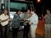 Entrega de caminhão para catadores em Três Corações/MG