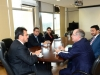 Presidente da Funasa, Henrique Pires recebe o Deputado Hildo Rocha