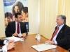 Presidente da Funasa, Henrique Pires recebe o Deputado, Zeca do PT