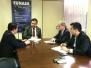Presidente da Funasa, recebe o Deputado Angelim Vasconcelos
