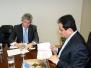 Presidente da Funasa recebe o Governador da Paraíba - 04/fev/15