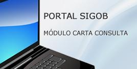 Portal Sigob - Módulo Carta Consulta