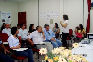 Debate com gestores municipais sobre pmsb pi
