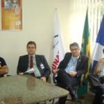 A partir da esq.: Ricardo, Fabiano Luna, Gregorini e Osman / Foto: Suest/PE