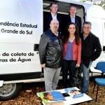 Gustavo de Mello (1º à esq., embaixo): análise da água para combater a pobreza (Foto: Katia Marcon)