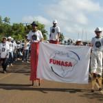 Funasa participa pela primeira vez do Carnaguariso