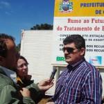 Adenor Piovesan (à dir.) visita obras do PAC 1 e 2 em municípios de Santa Catarina (Foto: Suest/SC)