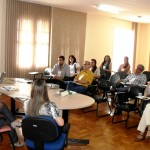 Superintendente da Funasa no MG, Célio Rios (à esquerda), destacou a importância do curso (Foto: Funasa/MG)