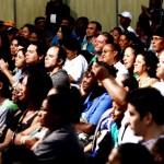 O tradicional encontro anual dos catadores voltou a reunir milhares de pessoas (Foto: Funasa/SP)