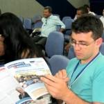 Programa de capacitação atraiu o interesse e a atenção dos técnicos municipais de saneamento (Foto: Funasa/ES)