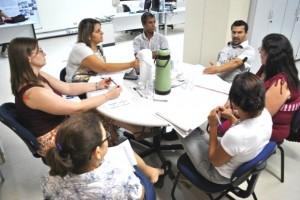 Integrantes da Comissão estiveram reunidos na sede da Funasa, em Campo Grande (Foto: Funasa/MS)