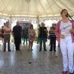 Prefeita Nílvia Pereira: ''Torres entra, agora, num círculo virtuoso na área ambiental e social'' (Foto: Funasa/RS)
