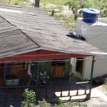 Casa de um dos moradores beneficiados com a construção das melhorias sanitárias (Foto: Nayglon Goulart/Funasa)