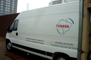 Unidade móvel proporcionará apoio ao controle e qualidade da água para consumo humano (Foto: Funasa/TO)