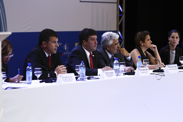 Palestrantes discutem responsabilidade socioambiental no IV Siesp (Foto: Thiago Santos)