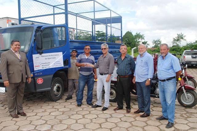 Os veículos foram adquiridos por meio de convênio no valor de R$ 200 mil (Foto: Suest/PA)