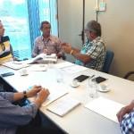 Reunião sobre cursos de capacitação em  (PMSB) - Fotos: Suest/SE