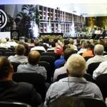 Presidente Henrique Pires (Funasa) discursando sobre parceria - Foto: Suest/MT