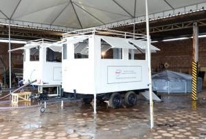 Unidade Móvel de Tratamento de Água (UMTA) - Foto: Edmar Chaperman