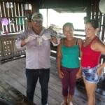 Visita as comunidades ribeirinhas - Foto:Suest/AP