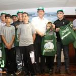 Participantes do Projeto de Educação em Saúde Ambiental - Foto: Suest/SC