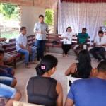 Reunião entre técnicos e moradores do município de Mazagão - Foto: Suest/AP