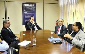 Reunião com a nova diretoria da Assemae - Foto: Edmar Chaperman