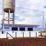 Foto: Suest/BA - Estação do Sistema Integrado de Abastecimento de Água em Muquém do São Francisco.