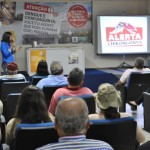 Foto: Suest/MS - Palestra para conscientização contra o mosquito Aedes aegypti.