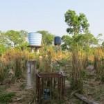 Foto: UFMT - Poço de Barão de Melgaço com água analisada.