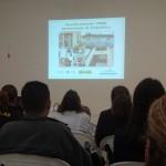 Foto: Suest/SP - Técnico apresenta diagnóstico de saneamento básico.