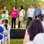Foto: Suest/GO - Superintendente, Márcia Freire, palestrando no evento.