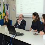 Foto: Edmar Chaperman - Diretor, José Antônio da Motta, na abertura do Seminário de Pesquisas Concluídas.