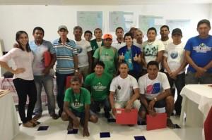 Agentes indígenas de saneamento participantes do curso - Foto: Suest/PB