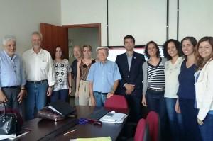 Participantes da reunião que discutiu o Programa Nacional de Saneamento Rural - Foto: Funasa/Densp