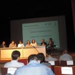 Superintendente Márcia Coutinho em sua apresentação no workshop - Foto: Suest/GO