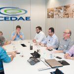 reunião com gestores da Funasa e da Cedae